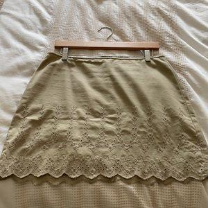 DKNY cotton summer skirt mini